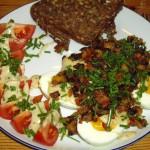 Æg i sennepssauce