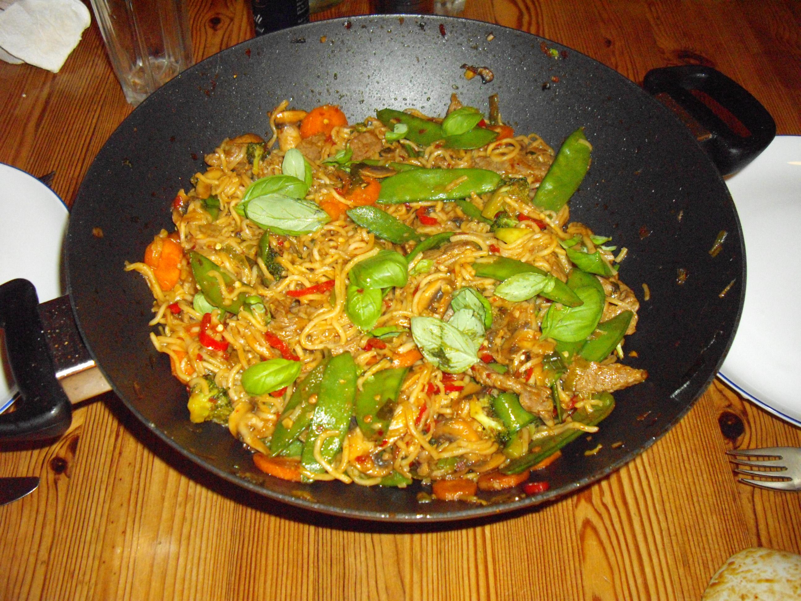 ovnretter med kartofler porre og oksekød