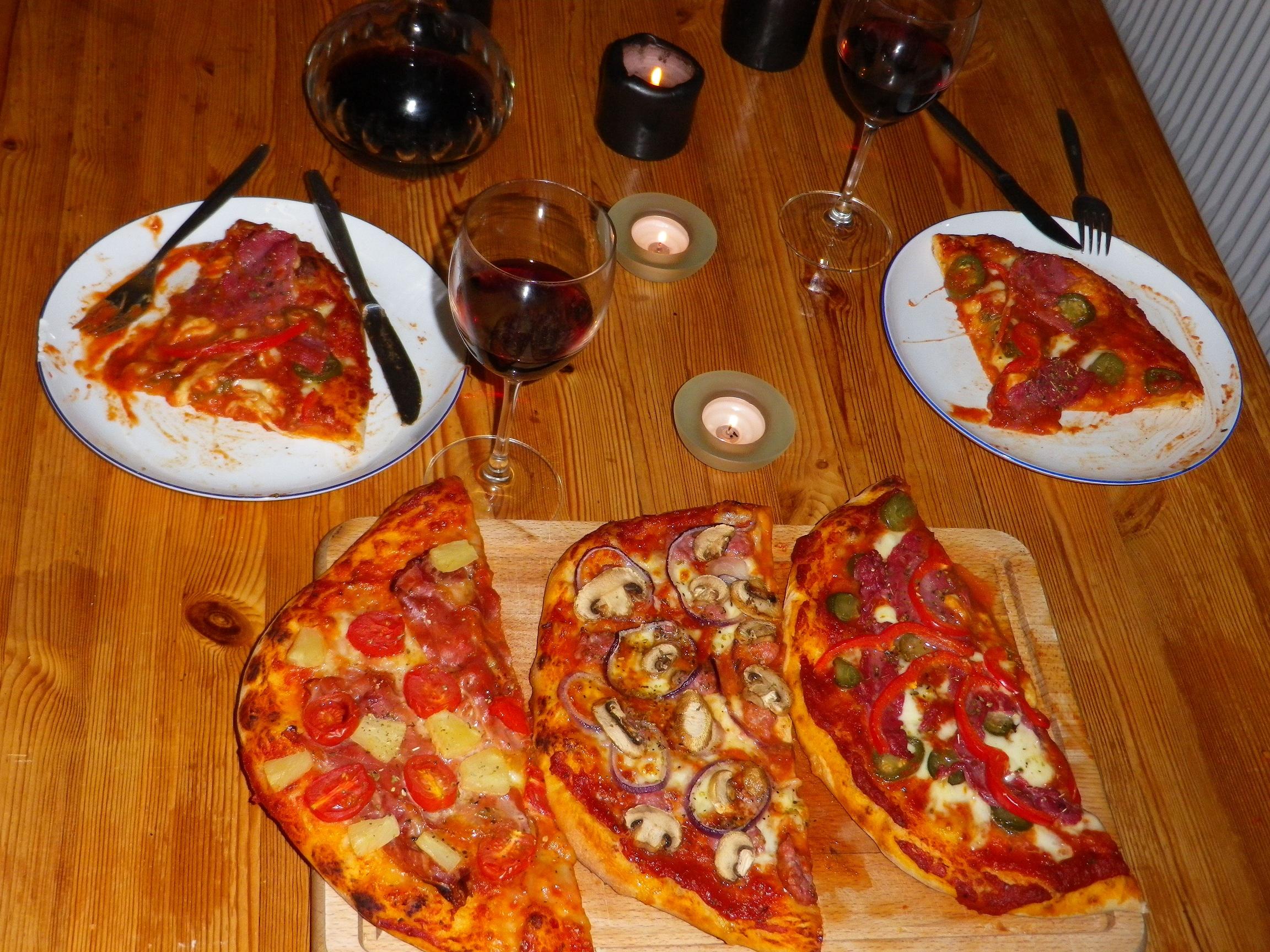 pizza kogebog italiensk