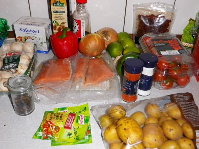 De gode kartofler ingredienser