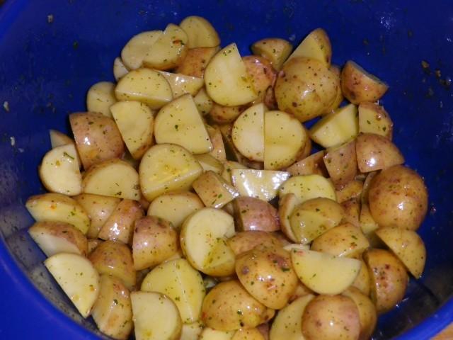 De gode kartofler tilberedning 1