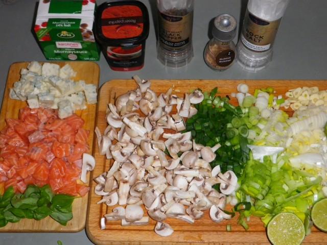 Laks i ovn tilberedning