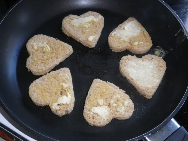 kantarel canapé - brød