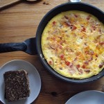 Spansk chorizo omelet