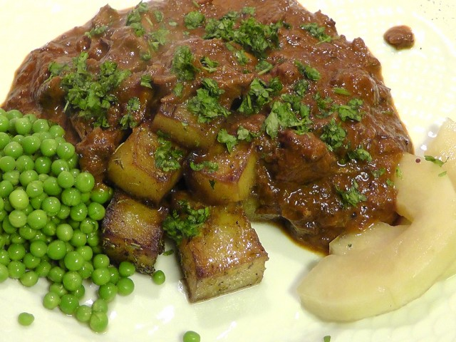 Osso Buco med fancy kartofler