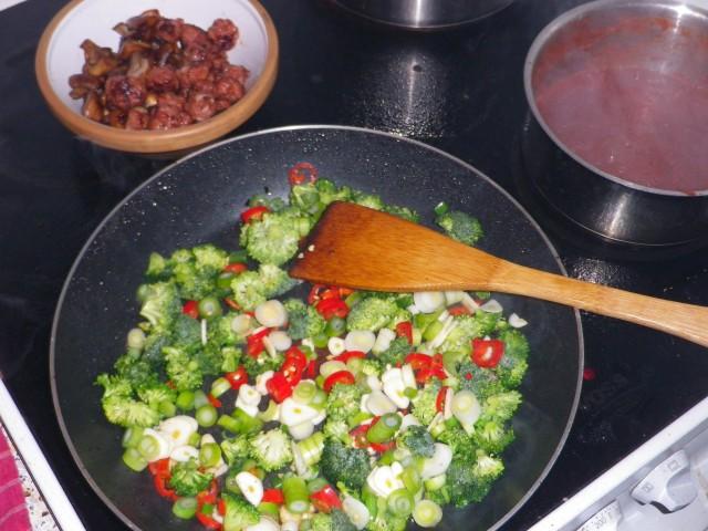 Pappardelle con salsiccia pande