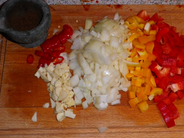 Sort bønnesuppe tilberedning