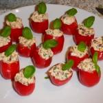 Fyldte cherrytomater