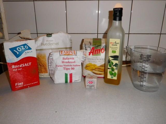 italienske boller - ingredienser