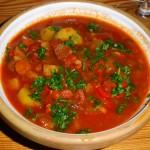 Muteret gullasch suppe