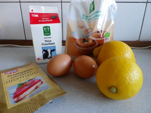 citronfromage - ingredienser