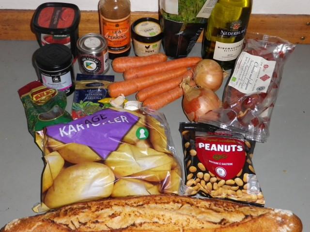 Chorizo suppe ingredienser