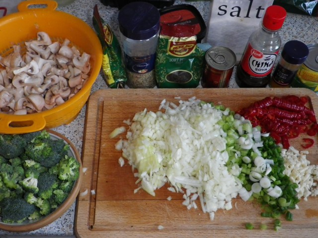Klassisk ovnpasta tilberedning