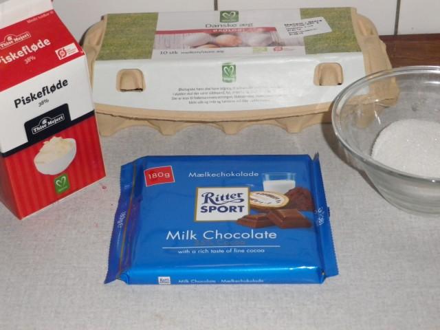 lagkage - lysmousse ingredienser